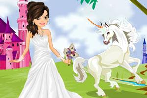 《美丽公主的婚礼》游戏画面1