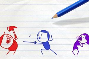 《铅笔画小人30》游戏画面1