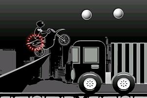 《暗黑轻摩托特技》游戏画面1
