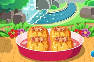 《精品烤苹果》游戏画面1