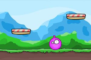 《弹球小怪吃星星》游戏画面1