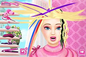 芭比娃娃发型屋