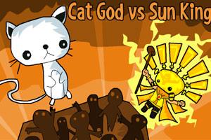 《猫神vs太阳王2》游戏画面1