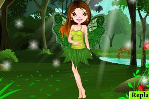 《森林绿精灵》游戏画面1
