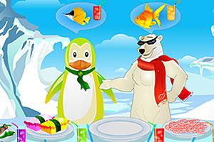 《冰天雪地美食馆》游戏画面1