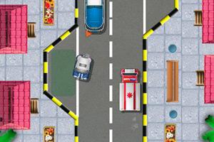 《女警停车》游戏画面1