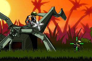 《丛林佣兵》游戏画面1