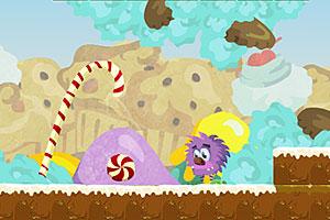 《贪吃的毛毛球》游戏画面1
