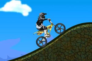 《山地越野摩托车》游戏画面1