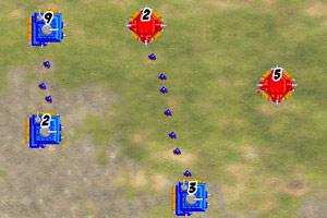 《红蓝坦克攻坚战》游戏画面1