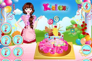 《母亲节帽子蛋糕》游戏画面1