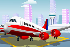 《飞机跑道停机场》游戏画面1