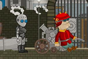蒸汽机器人历险记