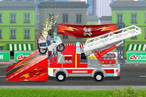 《乐高城市摩托赛2》游戏画面1