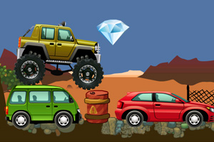 《疯狂的四驱车》游戏画面1