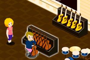《胖妞乐器专卖店》游戏画面1