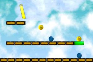 《魔法绿球》游戏画面1