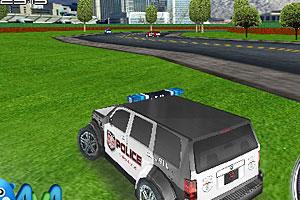 《3D警车追逐赛》截图1
