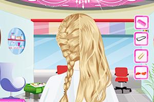 《编织优雅发型》游戏画面1