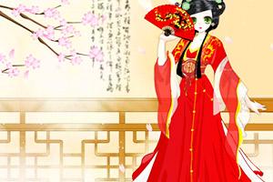 《中国水袖裙》游戏画面1