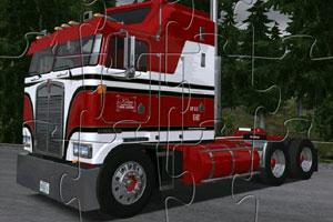 《大卡车的拼图》游戏画面1