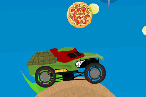 《忍者神龟大卡车》游戏画面1
