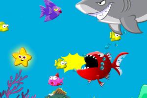 《大海贪吃鱼》游戏画面1