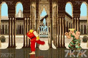 《街头霸王》游戏画面1