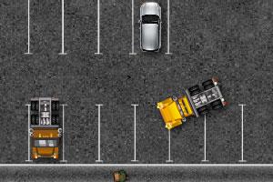 《大卡车司机停车4无敌版》游戏画面1