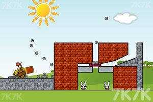 《炸死小兔子》游戏画面4