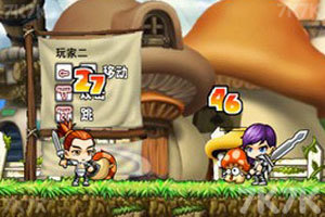 《冒险王双人无敌版》游戏画面1