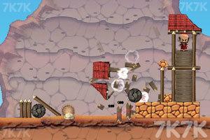 《大炮炸小人》游戏画面4