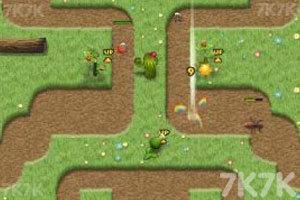 《植物大战害虫》游戏画面1