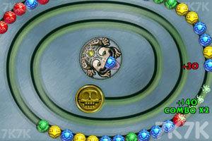 《青蛙祖玛》游戏画面2