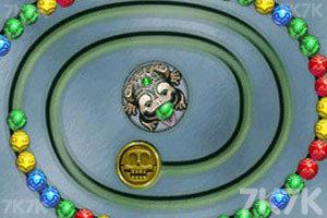 《青蛙祖玛》游戏画面1