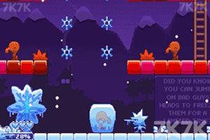《冷冻双侠》游戏画面1