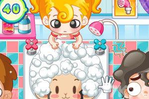 《小美洗发店》游戏画面6