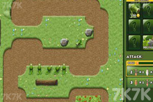 《植物大战害虫无敌版》游戏画面1