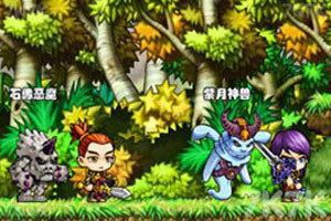 《冒险王之精灵物语无敌速升版》游戏画面1