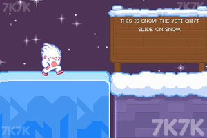 《捣蛋小雪怪》游戏画面2