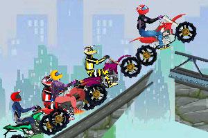 《超级越野摩托大赛》游戏画面1