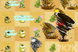 《植物大战沙暴》游戏画面1
