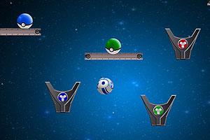 《撞击太空小球》游戏画面1
