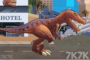《恐龍大戰火箭車》游戲畫面8