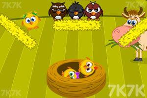 《拯救小鸡》游戏画面1