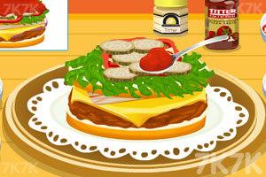 《泰莎做漢堡》游戲畫面10