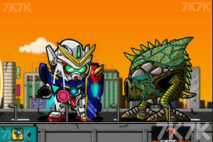 《鼠控敢达》游戏画面9