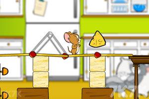 《杰瑞搭桥吃奶酪》截图2