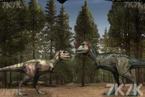 《恐龙格斗》游戏画面2
