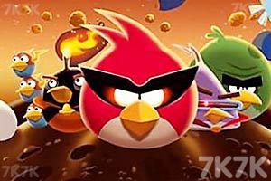 《愤怒的小鸟太空版HD》游戏画面1